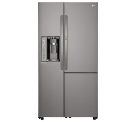 LG 26-Cubic Foot Side-by-Side Refrigerator - Energy Star