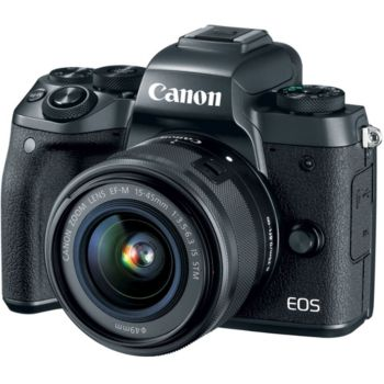 Canon EOS M5 24.2MP Camera Body with EF-M 15-45mm Lens