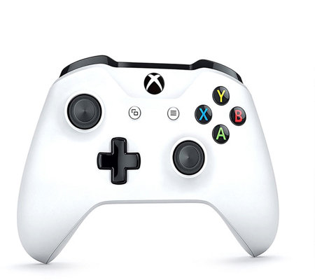 Microsoft Wireless Controller for Xbox One & Win 10 - White
