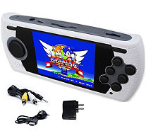 SEGA Genesis Handheld Video Game Console with 80 Games and Charger - E230593