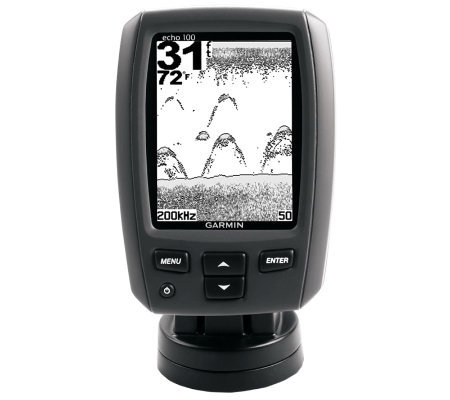 "Garmin 4"" Diagonal Single Beam Fresh/SaltwaterFishfinder"