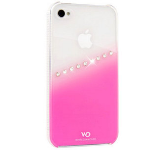 White Diamonds Sash iPhone 4 Case - E263393