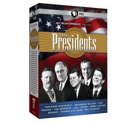 American Experience: The Presidents (2012), 17-Disc DVD Set
