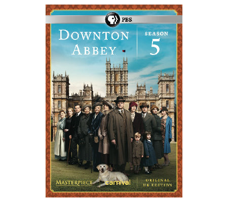 PBS Downton Abbey Season 5 DVD Set