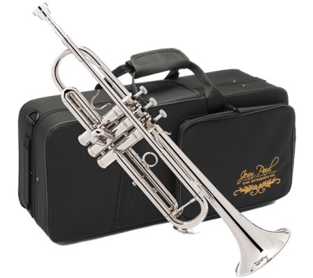 Jean Paul USA Nickel Finish Trumpet with Contoured Case