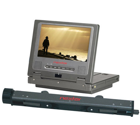 Nextar MP1607 7&#34&#x3b; Diagonal Mobile DVD Player