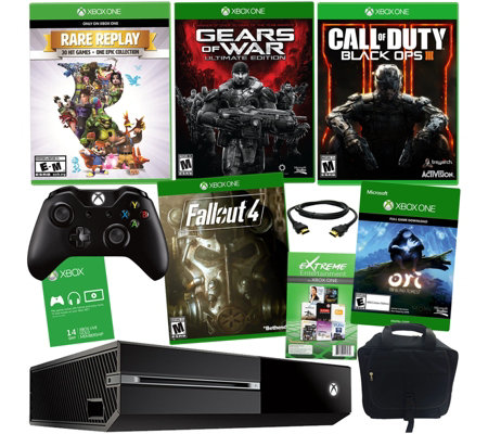 Xbox One 1TB 3 Game Holiday with Fallout 4 & Black Ops III & Accessories