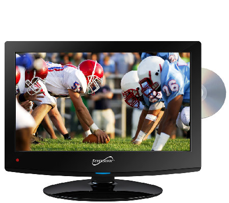 "SuperSonic 15.6"" LED HDTV with Built-in DVD Player"