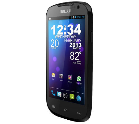BLU Dash 4.0 D270a GSM Unlocked Dual SIM Cell Phone