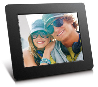 "Aluratek 8"" Hi-Res Digital Photo Frame - E282994"
