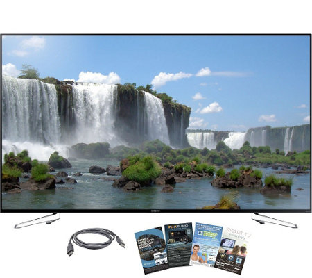 "Samsung 75"" Class 1080p LED Smart HDTV w/ HDMI& Software"