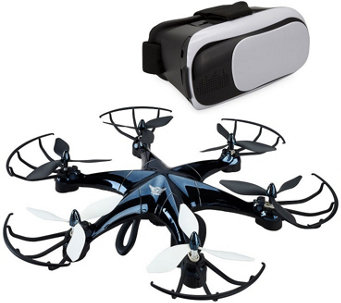 SkyRider Drone and Virtual Reality Bundle - E289594
