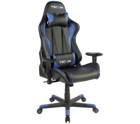Techni Sport Ultimate Recline Blue Computer &Gaming Chair