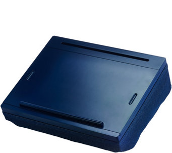 iCozy Lap Desk with Built-in Compartments and Carrying Handle - E228695