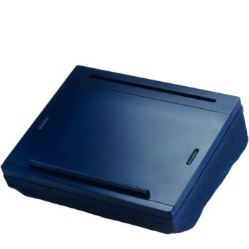 iCozy Lap Desk with Built-in Compartments and Carrying Handle