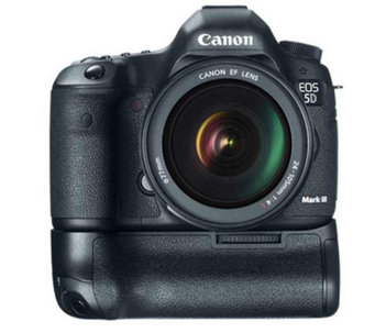 Canon EOS 5D Mark III DSLR Camera w/ EF 24-105mm Lens - E262195