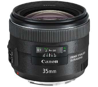 Canon EF 35mm f/2 IS USM Wide-Angle Lens - E278895