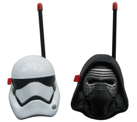Star Wars First Order Character Push-to-Talk Walkie Talkies