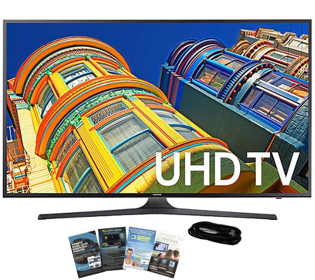 "Samsung 40"" LED Ultra HDTV with App Pack and HDMI Cable"