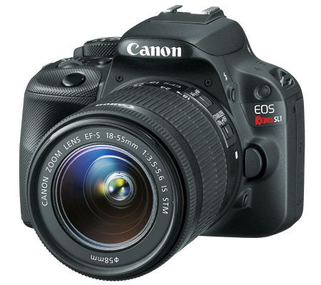 Canon EOS Rebel SL1 Camera Body & EF-S 18-55m mLens