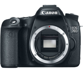 Canon EOS 70D 20.2MP DSLR Camera - Body Only - E272396
