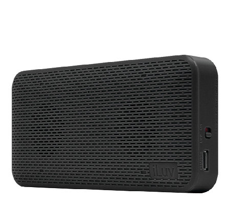 iLuv Aud Mini Portable Ultraslim Bluetooth Speaker