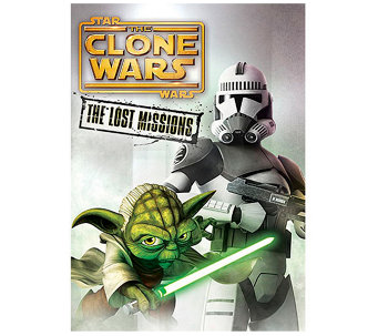 Star Wars: The Clone Wars - The Lost Missions DVD - E287496