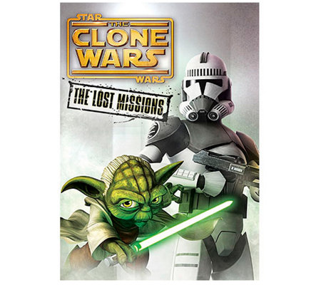 Star Wars: The Clone Wars - The Lost Missions DVD