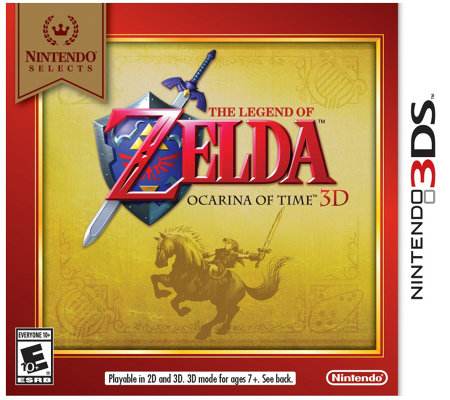 Nintendo Selects: The Legend of Zelda Ocarina of Time 3D - 3D