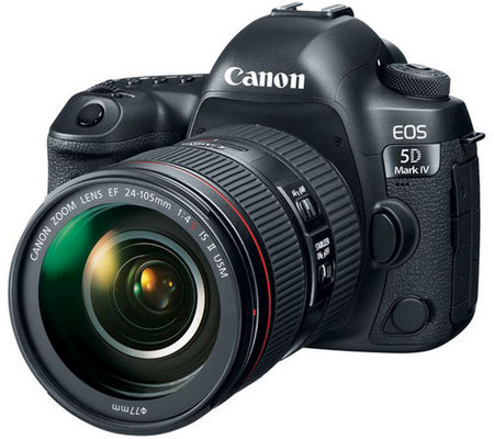 Canon EOS 5D Mark IV EF 30.4MP Camera & 24-105mm Lens