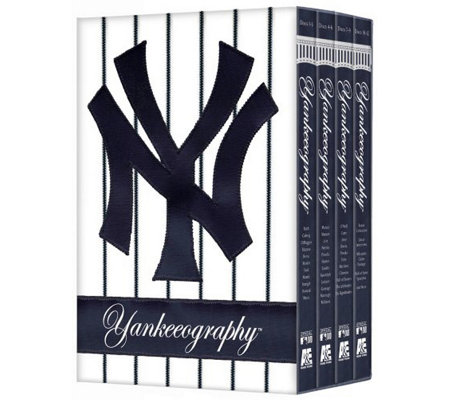 MLB Yankeeography 4-Disc DVD Set