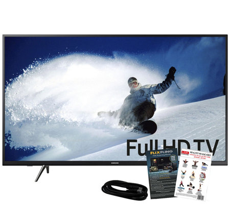 "Samsung 43"" 1080p Smart HDTV with Apps & HDMICable"
