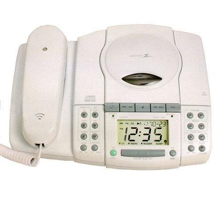 Amazon.com: Zenith Z124B Dual Alarm Clock Radio ... |Zenith Clock Radio
