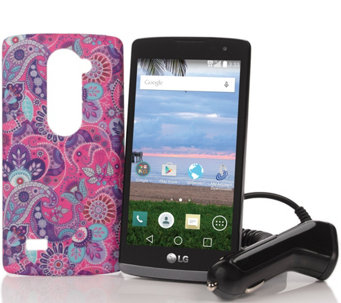 TracFone LG Destiny Android Smartphone with 1200 Minutes & Accessories - E229397