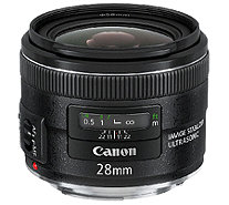Canon EF 28mm f/2.8 IS USM Wide-Angle Lens - E278897