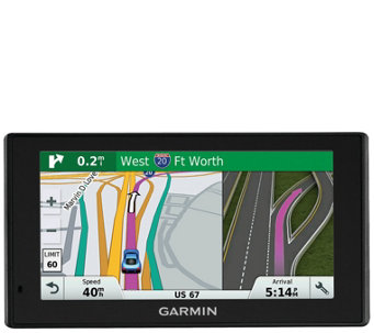 "Garmin 6"" DriveSmart GPS w/ Free Lifetime Maps& Traffic - E288297"