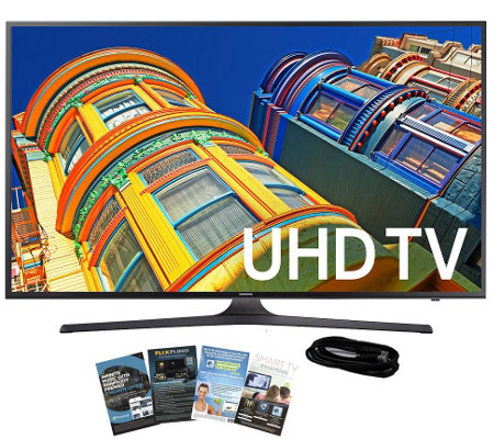 "Samsung 43"" Class LED 4K Ultra HDTV with App Pack & HDMI Cabl"
