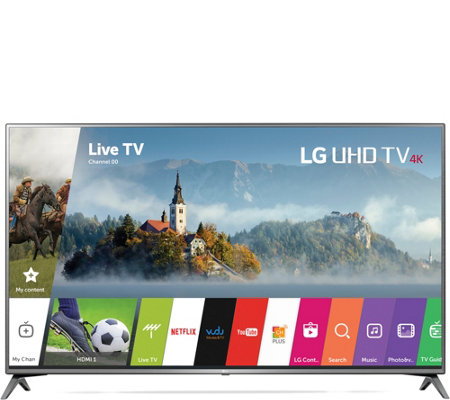 "LG 75"" 4K Smart LED Ultra HDTV with HDR"