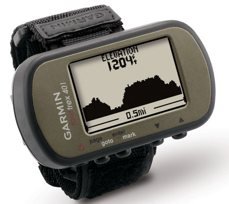 Garmin Foretrex 401 Waterproof GPS with Electronic Compass