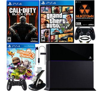 PlayStation 4 500GB Black Ops 3 Bundle with 2 Games and Accessories - E229198
