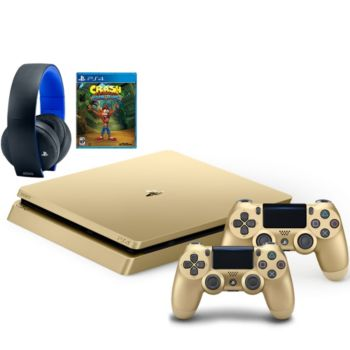 Sony PS4 Slim Limited Edition 1TB Console w/ ExtraController Game & Headset