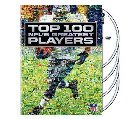 NFL Top 100 Greatest Players 4-Disc Set