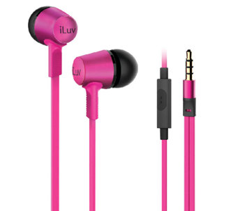 iLuv City Lights In-Ear Earbuds with Microphone& Bluetooth - E285298