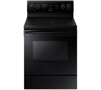 Samsung 5.9 Cu. Foot Smooth-Top Free-standing Electric Range - E285898