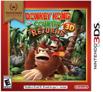 Nintendo Selects: Donkey Kong Country Returns 3D - 3DS - E289598
