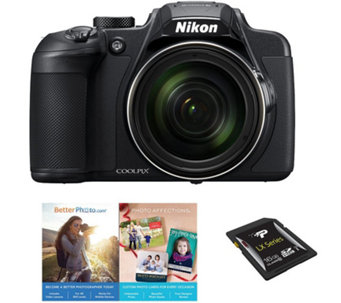 Nikon Coolpix B700 Wi-Fi Digital Camera - 20MP,4K UHD, 60X - E290798