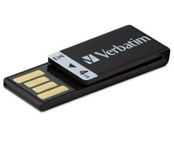 Verbatim Clip-it 97549 4GB Flash Drive USB 2.0-External - E247499