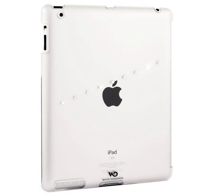 White Diamonds Crystal Sash iPadCover