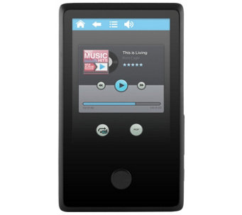 "Ematic 8GB MP3 Video Player with FM Tuner & 2.4"" Touchscreen - E287599"