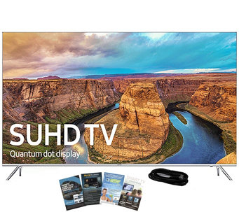 "Samsung 49"" Class LED Smart SUHD TV with App Pack & HDMI Cabl - E289199"